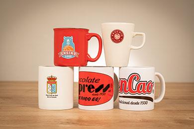 tazas mug para merchandising